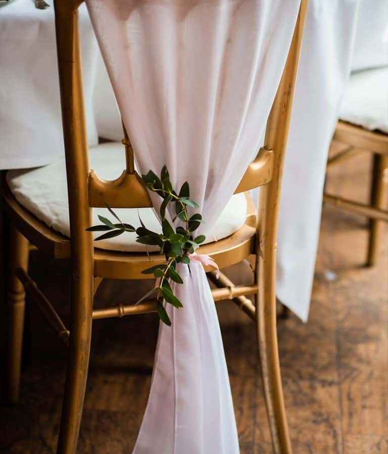 chair covers with flowers