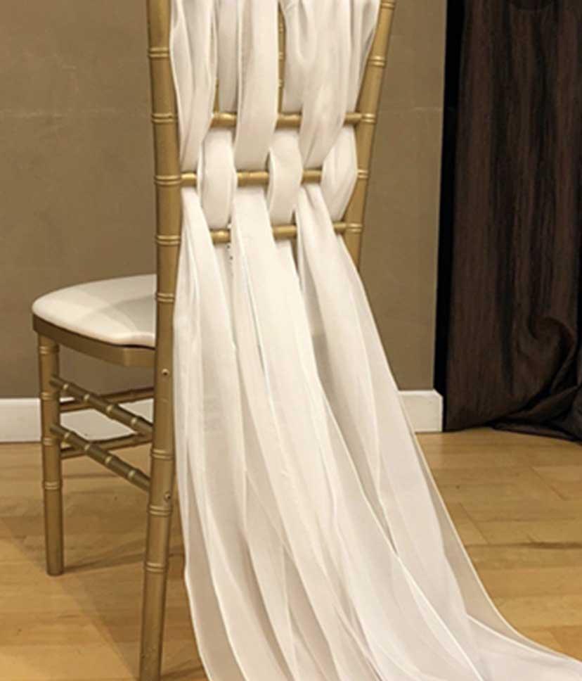 wedding chair weave