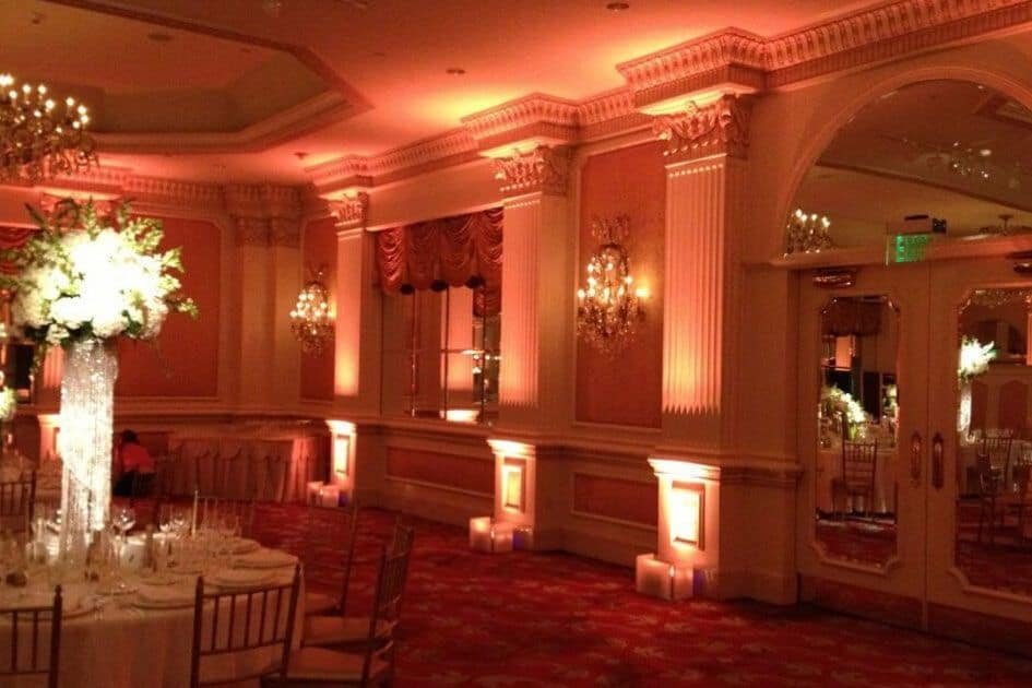 event management services event planning services room uplighters