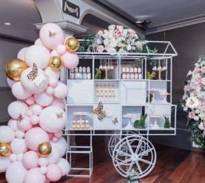 Luxury candy cart